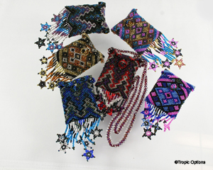 Amulet Bag w/Stars - Assorted