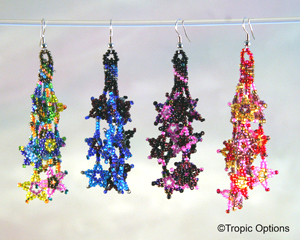 Galaxy Earrings - Long - Assorted