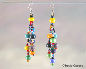 Mardi Gras Earrings - Multi